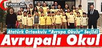 ATATÜRK ORTAOKULU 'TESCİLLİ AVRUPA...