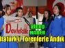 ATATÜRK'Ü TÖRENLERLE ANDIK(VİDEO)
