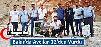 BAKIR'DA AVCILAR 12'DEN VURDU
