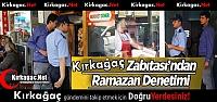 BELEDİYE'DEN RAMAZAN DENETİMİ