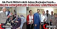 BİLEN KIRKAĞAÇ'TA HEMŞİRELERE KARANFİL...