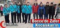 BOCCE'DE ZAFER KOCAİSKAN'IN