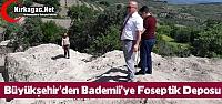 BÜYÜKŞEHİR'DEN BADEMLİ'YE FOSEPTİK DEPOSU