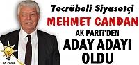 MEHMET CANDAN RESMEN ADAY ADAYI