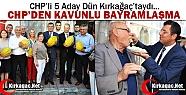 CHP'DEN KAVUNLU BAYRAMLAŞMA