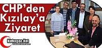 CHP'DEN KIZILAY'A ZİYARET
