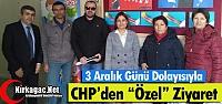 "CHP'DEN 'ÖZEL"" ZİYARET"