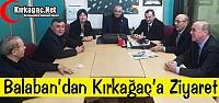 CHP'Lİ BALABAN'DAN KIRKAĞAÇ'A ZİYARET