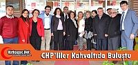 CHP'LİLER KIRKAĞAÇ'TA KAHVALTIDA...