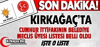 CUMHUR İTTİFAKI MECLİS ÜYESİ ADAYLARI...