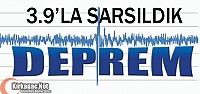 DEPREM…3.9'LA SARSILDIK
