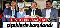 DESTİCİ KIRKAĞAÇ'TA ÇİÇEKLERLE...