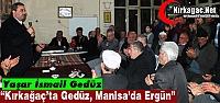 """GEDÜZ 'KAYADİBİ KARARINI VERMİŞ CUMHUR İTTİFAKI DEMİŞ"""""""
