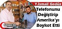GEDÜZ TELEFONUNU DEĞİŞTİRİP ABD'Yİ PROTESTO ETTİ