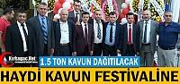 HAYDİ KAVUN FESTİVALİNE