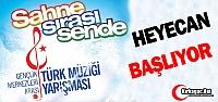 """HAYDİ 'SAHNE SIRASI SENDE"""" ŞARKI YARIŞMASINA"""