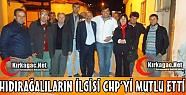 HIDIRAĞA'LILARIN İLGİSİ CHP'Yİ MUTLU ETTİ