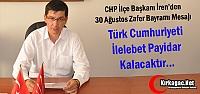İREN 'TÜRKİYE CUMHURİYETİ PAYİDAR KALACAKTIR'