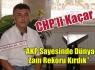 KAÇAR 'AKP SAYESİNDE DÜNYA ZAM REKORUNU KIRDIK'