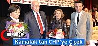 KAMALAK'TAN CHP'YE ÇİÇEK SÜRPRİZİ