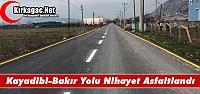 KAYADİBİ-BAKIR ARASI NİHAYET ASFALTLANDI