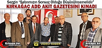 KIRKAĞAÇ ADD AKİT GAZETESİNİ KINADI(VİDEO)