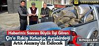 KIRKAĞAÇ AY ÇEKİRDEĞİ ARTIK AKSARAY'DA...