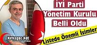 KIRKAĞAÇ İYİ PARTİ YÖNETİM KURULU...