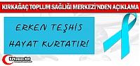 KIRKAĞAÇ TOPLUM SAĞLIĞI MERKEZİ'NDEN...