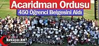 KIRKAĞAÇ'TA 450 SPORCUYA BAŞARI BELGESİ...