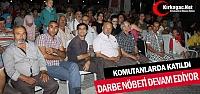 KIRKAĞAÇ'TA 'DARBE KARŞI HAYIR'...