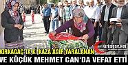 KIRKAĞAÇ'TA Kİ KAZADAN BİR ACI HABER...