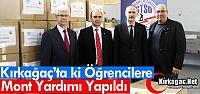 KIRKAĞAÇ'TA Kİ ÖĞRENCİLERE MONT...