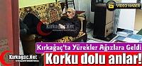 KIRKAĞAÇ'TA KORKU DOLU ANLAR(VİDEO)
