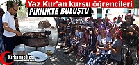 KIRKAĞAÇ'TA KURAN KURSU ÖĞRENCİLERİNE...