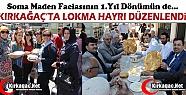 KIRKAĞAÇ'TA MADEN ŞEHİTLERİ ANISINA...