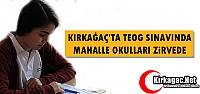 KIRKAĞAÇ'TA TEOG SINAVINDA MAHALLE OKULLARI...