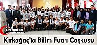KIRKAĞAÇ'TA TÜBİTAK 4006 BİLİM FUARI...