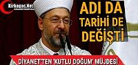 'KUTLU DOĞUM'UN' ADI DA TARİHİDE...