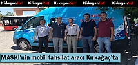 MASKİ'NİN MOBİL TAHSİLAT ARACI KIRKAĞAÇ'TA