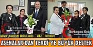 MHP KIRKAĞAÇ KADIN KOLLARI 'HIZ' VERDİ