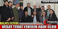 MHP'DE VEDAT TERDİ YENİDEN ADAY