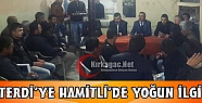 MHP'Lİ TERDİ'YE HAMİTLİ'DE YOĞUN İLGİ