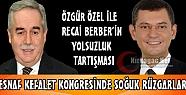 ÖZEL İLE BERBER'İN 'YOLSUZLUK' TARTIŞMASI