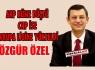 ÖZEL'AKP KÜME DÜŞTÜ,CHP AVRUPA LİGİNE YÜKSELDİ'