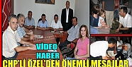ÖZEL'DEN ÇOK ÖNEMLİ MESAJLAR(VİDEO)