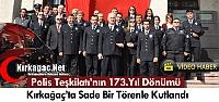 POLİS TEŞKİLATININ 173.YILI SADE BİR TÖRENLE KUTLANDI