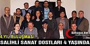 SALİHLİ SANAT DOSTLARI 4 YAŞINDA