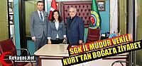 SGK İL MÜDÜR VEKİLİ KURT'TAN BOĞAZ'A ZİYARET