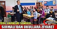SIRMALI'DAN OKULLARA ZİYARET